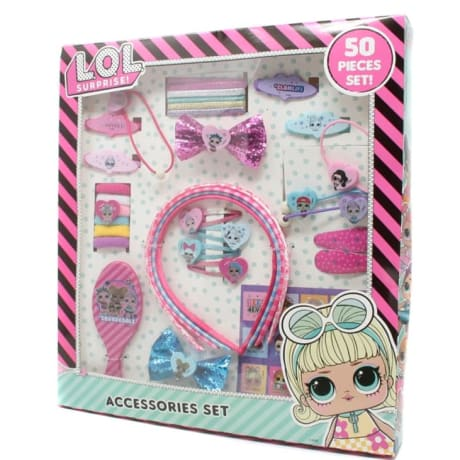 LOL Surprise 50 Pcs Hair Accessory Set