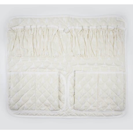Cot Tidy - Rabbit Trellis Cream