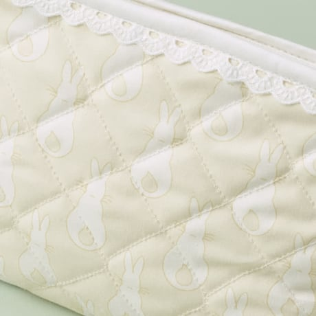 Sponge Bag - Rabbit Trellis Cream