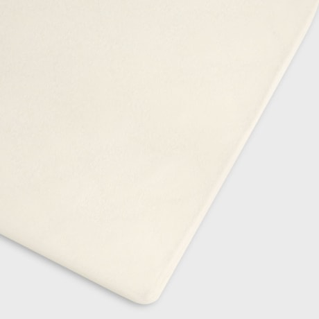 Organic Fitted Cot Sheet - Linen