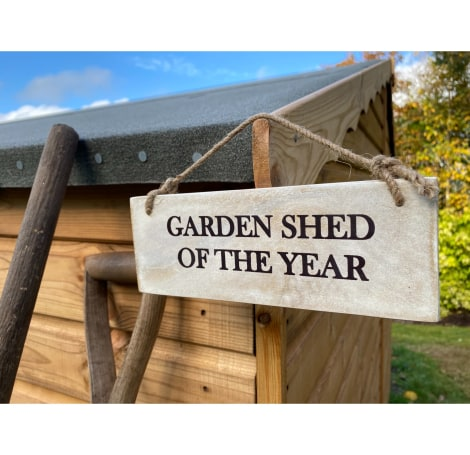 Garden Sign - Garden Shed of the Year NEW