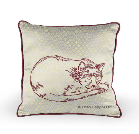 Posh Cat Cushion - SALE 70% OFF