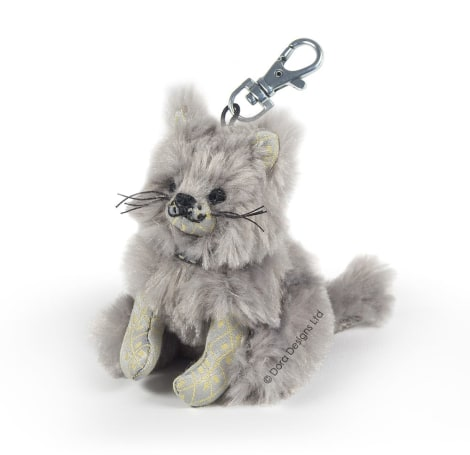 Posh Majestic Maine Coon Key Ring