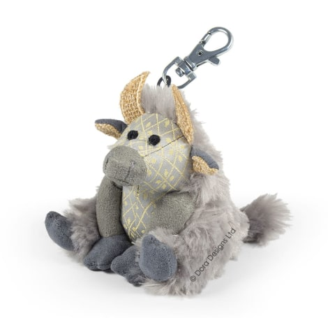 Posh Angus Highland Cow Key Ring