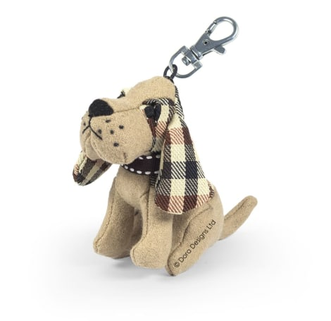 Gus The Bassett Hound Dog Key Ring