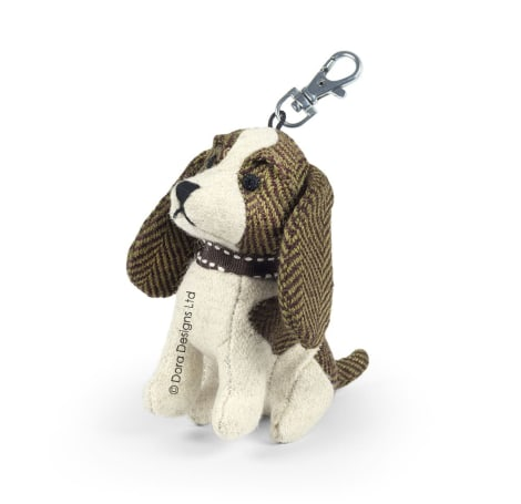 Spangle The Spaniel Dog Key Ring