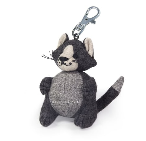 Fat Cat Key Ring