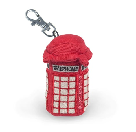 Telephone Box Key Ring