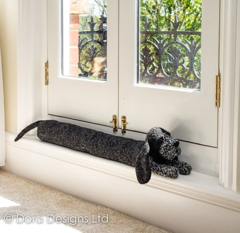 Cocker Senior Cocker Spaniel Dog Draught Excluder