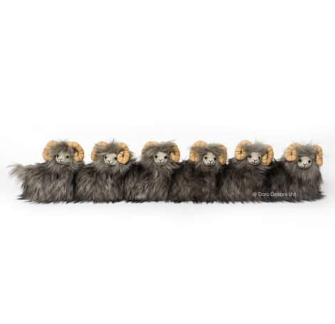 Posh Heardy Senior Flock of Sheep Draught Excluder