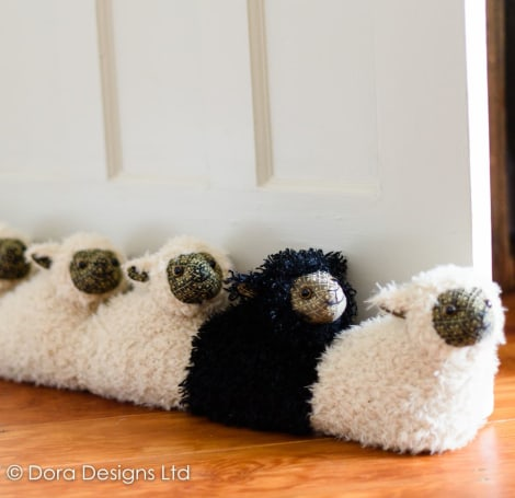 Black Sheep of the Family Draught Excluder