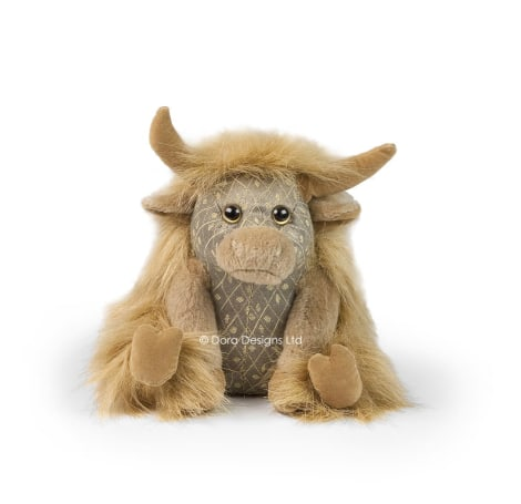 Angus Junior Highland Cow Paperweight