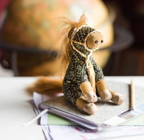 Gem Horse Junior Paperweight