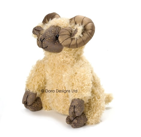Aaron Ram Sheep Doorstop