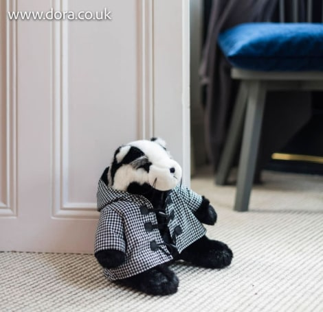 Percy Brocklehurst Badger Doorstop