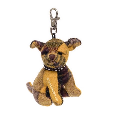 Plaid Calum Cairn Terrier Keyring