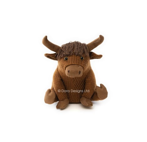 Mull the Highland Cow Sitting Doorstop