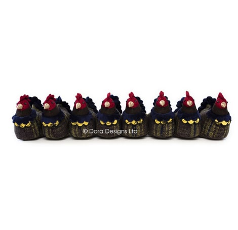 The Brood Brooding Hens Draught Excluder