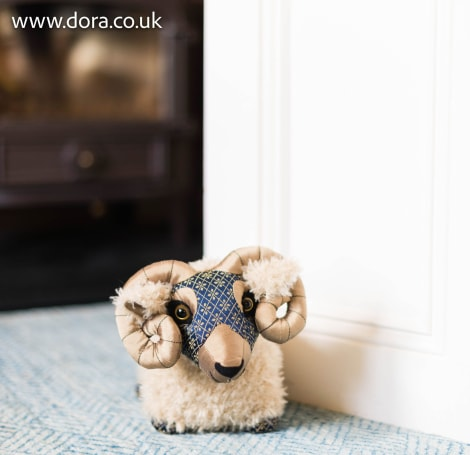 Swaledale Sheep Doorstop
