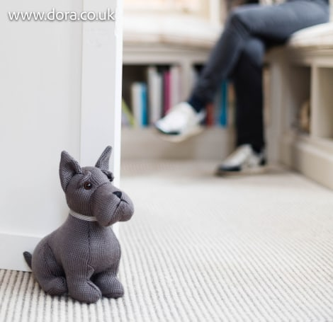 Scottie Sitting Doorstop - Arran
