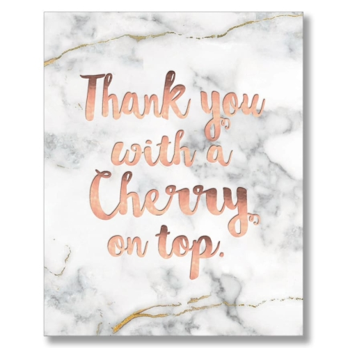 Thank You With A Cherry On Top