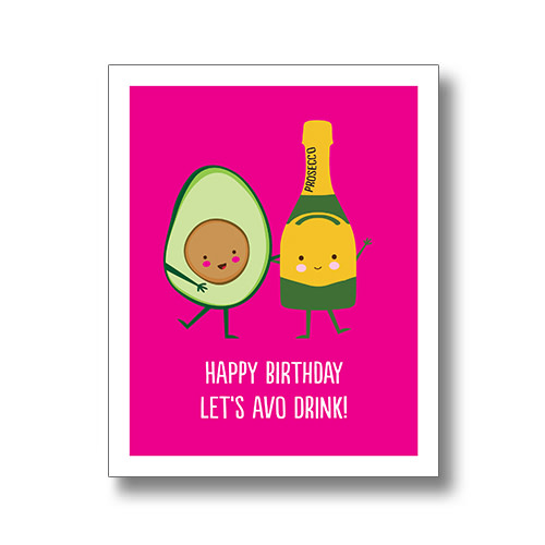 Happy Birthday Let's Avo Drink