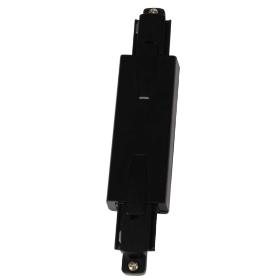 Escala Straight Connector with Live Feed Black