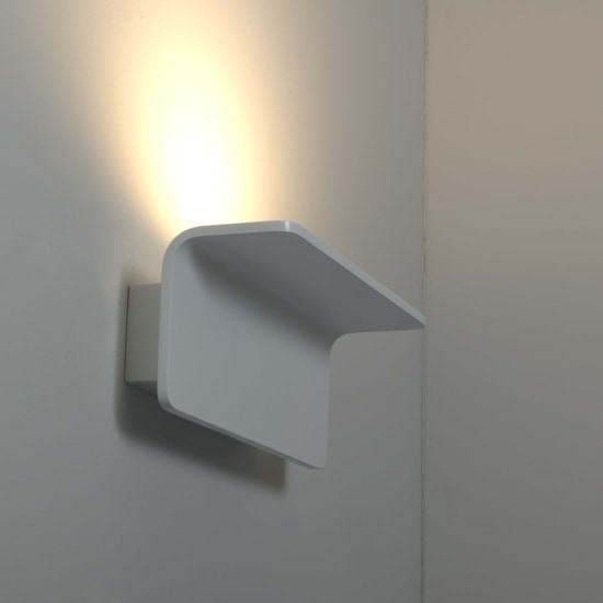 Mosta 18W 3000K Dimmable LED Wall Light White