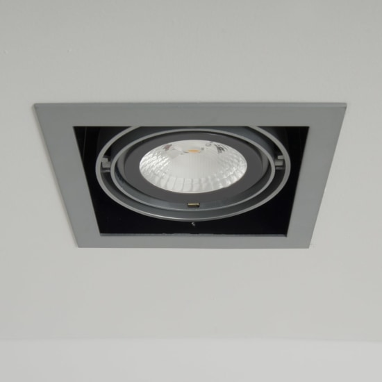 Chieti AR111 Single Light Box with 24W 60° LED Non-Dimmable Lamp