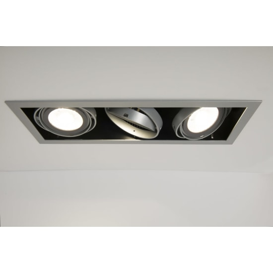 Chieti AR111 Triple Light Box with 3x 15W 60° LED Non-Dimmable Lamps