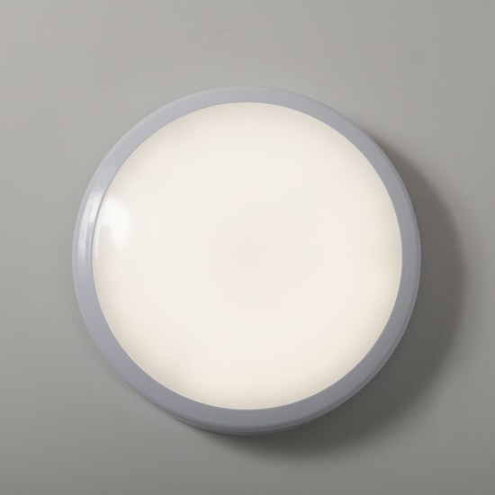 Roma 12W IP54 4000K LED White Surface Fitting with Microwave Sensor