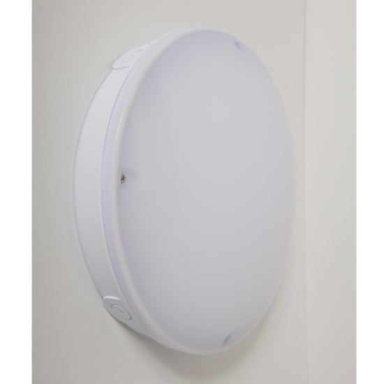 Navara SF 12W LED Triple CCT Surface Fitting with Microwave Sensor White