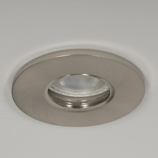 Qr Pro WiZ GU10 4000K LED IP65 Downlight Satin Chrome