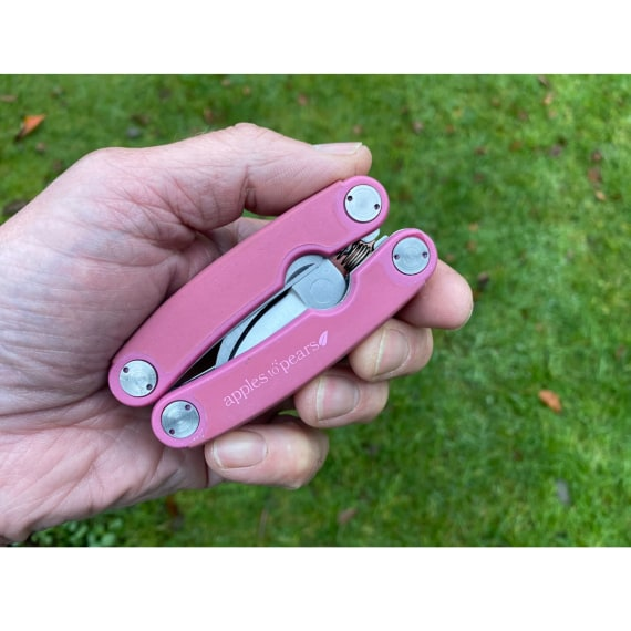 Folding Pocket Secateurs - Fuchsia Pink