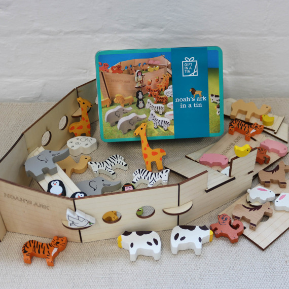 Noah's Ark in a Tin