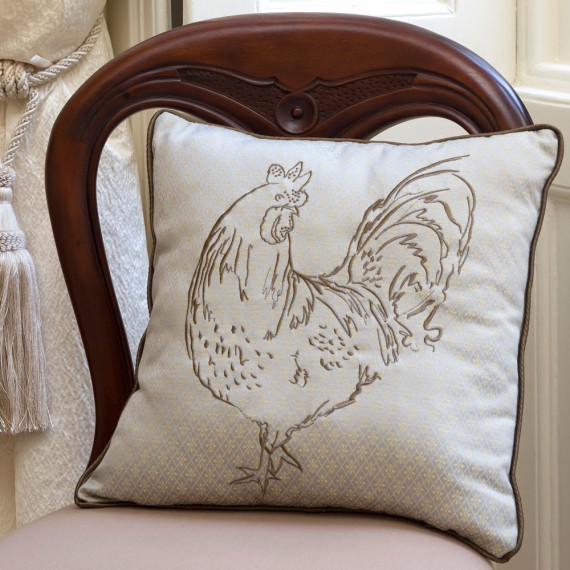 Cockerel Cushion