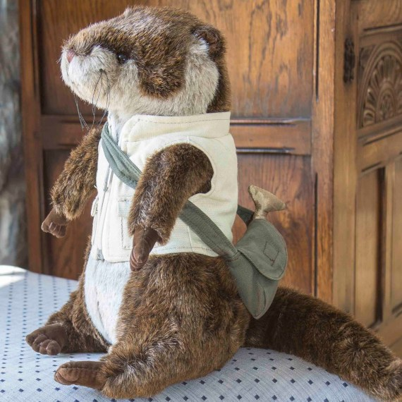 Oscar Otter Doorstop by Dora Designs