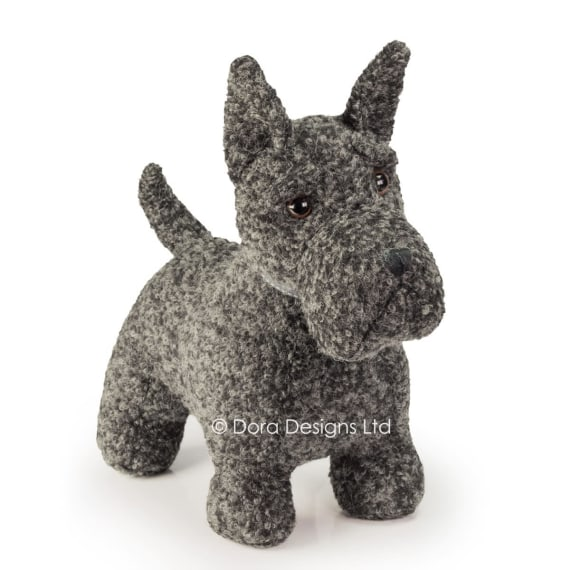 Mac Scottie Dog Doorstop by Dora Designs