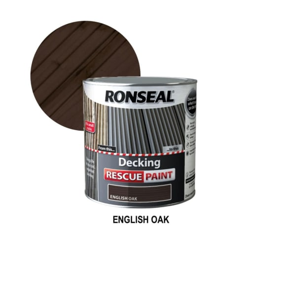 Ronseal Decking Rescue Paint 2.5L
