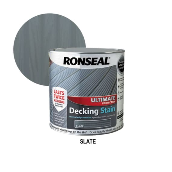 Ronseal Decking Stain - Slate