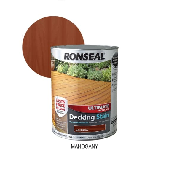 Decking Stain - Mahogany 5L