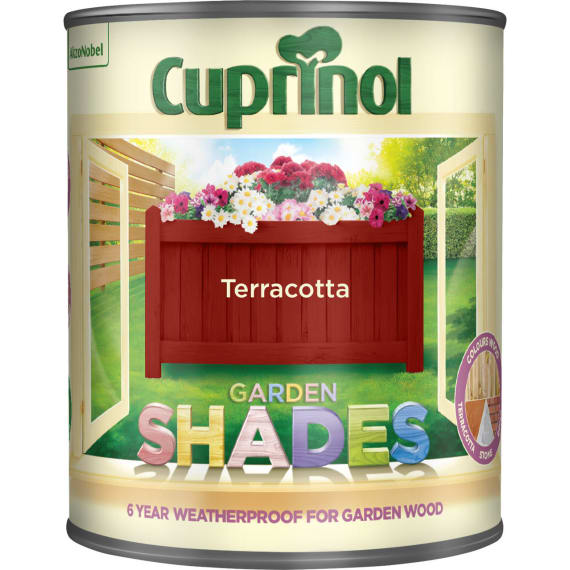 Cuprinol Garden Shades  - Terracotta