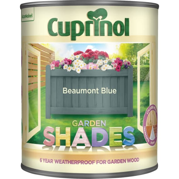Cuprinol Garden Shades - Beaumont Blue