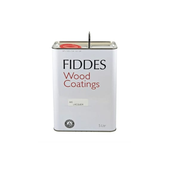 Fiddes A/C Lacquer Clear Satin or Gloss