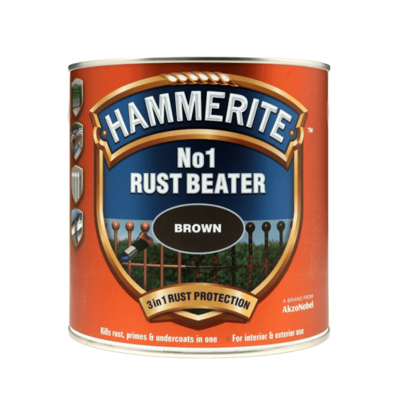 Hammerite No.1 Rust Beater Brown 2.5l