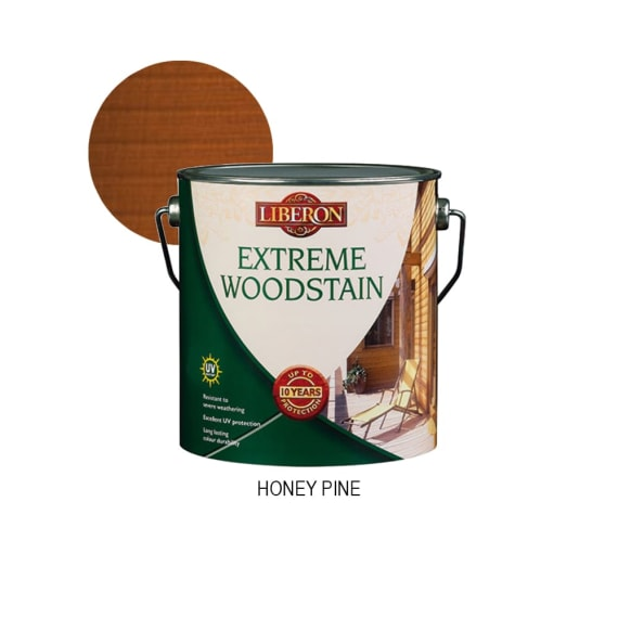 Liberon Extreme Woodstain Honey Pine