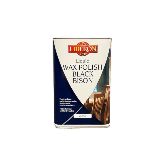 Liberon Liquid Wax Polish Black Bison 5L