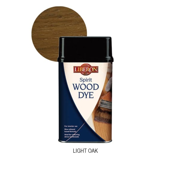 Liberon Spirit Wood Dye - Light Oak