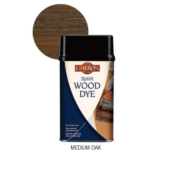 Liberon Spirit Wood dye - Medium Oak
