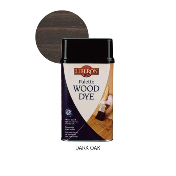 Liberon Palette Wood dye - Dark Oak